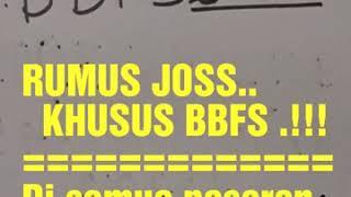 RUMUS BBFS DI SEMUA TOGEL,JP4X SATU KALI PATAH.