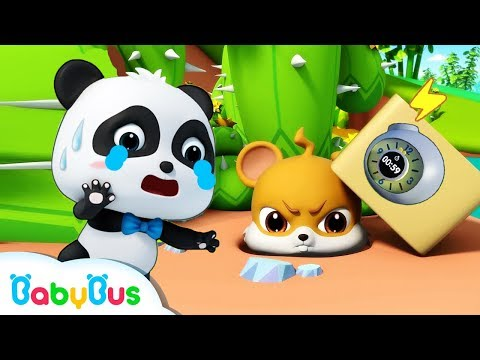 Little Panda Rescues Whiskers | Magical Chinese Characters | Baby Panda's Magic Bow Tie | BabyBus