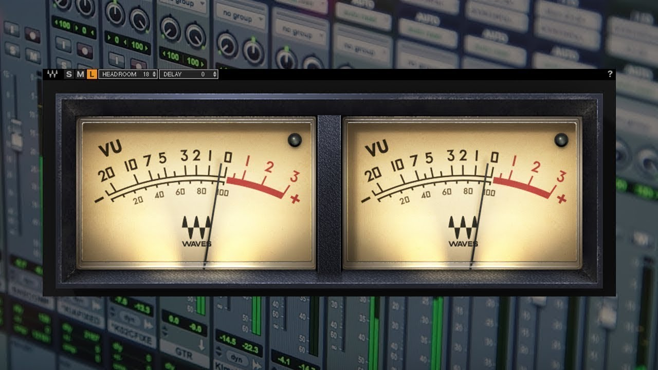 Introducing the VU Meter Plugin