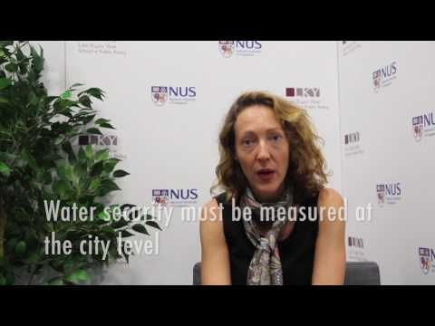 [Water Policy Research] Urban Water Security Indicators
