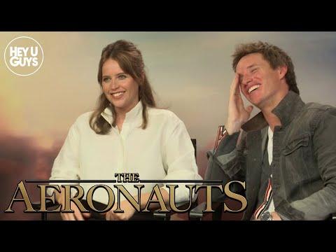 Felicity Jones & Eddie Redmayne on reuniting for The Aeronauts