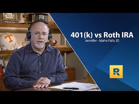 401k VS Roth IRA