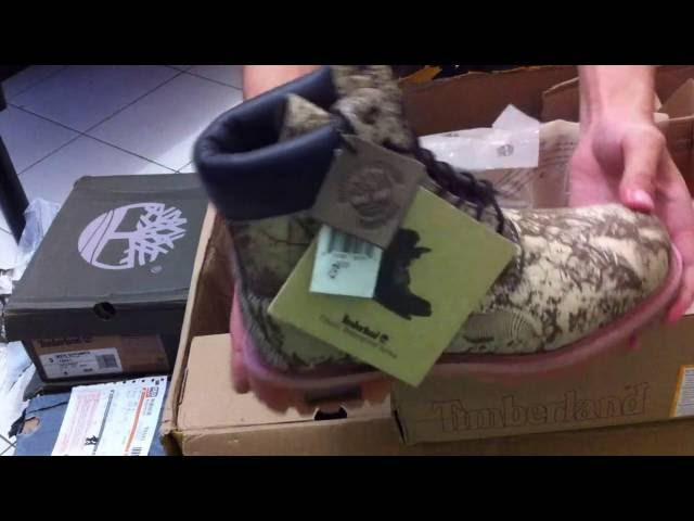 Unboxing Timberland