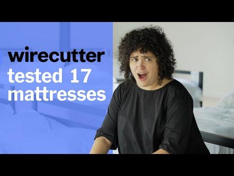 Wirecutter Tests Mattresses