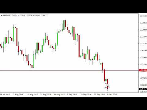 GBP/USD Technical Analysis for October 7 2016 by FXEmpire.com