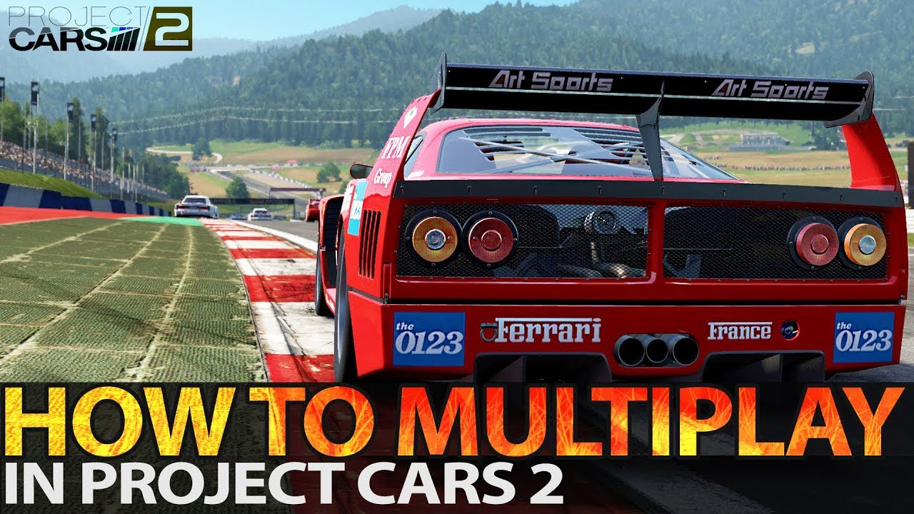 What if multiplayer always was this much fun in Project Cars 2 ...