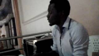 "Jaydon rehearsing ""This God is Too Good"" by Nathaniel Bassey ft Micah Stampley"