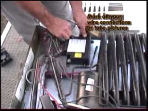 Electric Cooling Fan >> How To DIY Norcold N811 Cooling Unit replacement Part 1 - YouTube