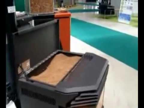 Bioptima 2012 caldera de biomasa del hueso de - Estufa de hueso de aceituna ...