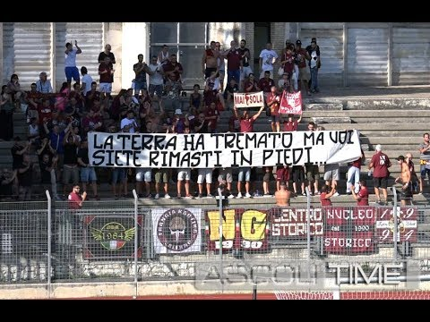 Salernitana-Ascoli 1-0, highlights dell'amichevole a Tolentino