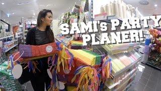SAMI'S PARTY PLANER! | AnKat