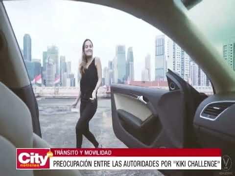 Hacer el reto del'Kiki Challenge' podría costarle 800 mil pesos   CityTv