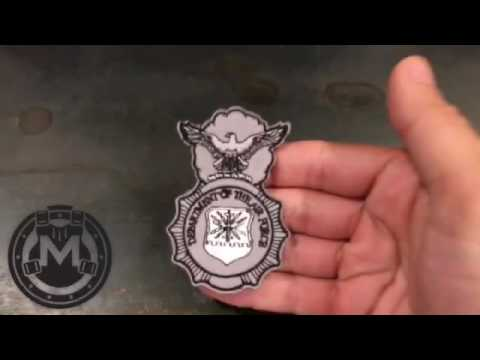 Security Forces Badge Morale Patch - Morale Patch Armory