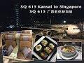Singapore Airlines SQ615 Osaka to Singapore 新航 SQ 615 大阪飞往新加玻