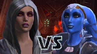 Vette vs Jaesa Willsaam Choice | SWTOR Sith Warrior Romance