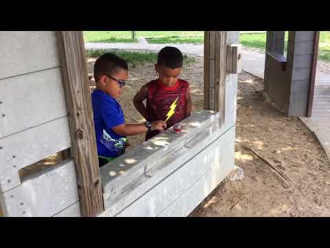 Meadow Oaks Academy (MOA) Preschool, Mesquite, TX:  Spinning Tops