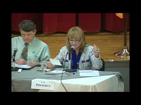 Assembly Candidate Debate