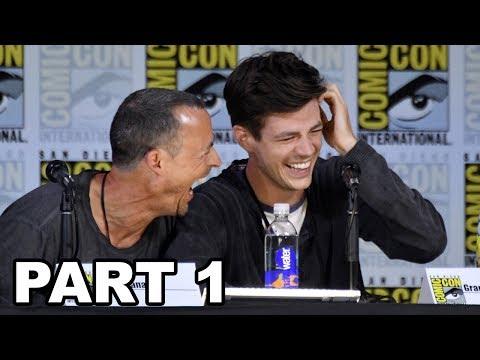 The Flash Panel Comic Con 2017 Part 1