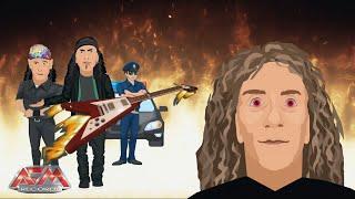 ANVIL - Nabbed In Nebraska (2019) // Official Cartoon Lyric Video // AFM Records