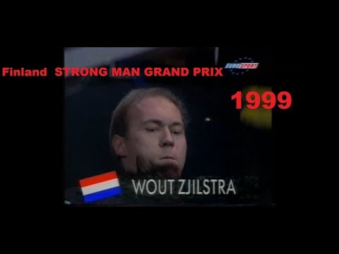 Finland  STRONG MAN GRAND PRIX 1999 .