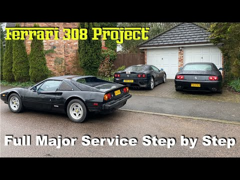 Ferrari 308 Project: First Full Major Service in 20 Years – Part 1