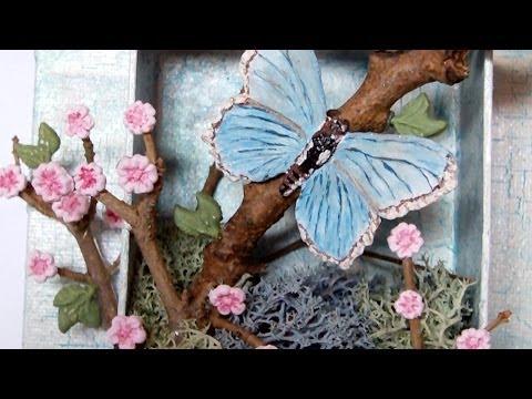 Mixed Media 3D Canvas - Spring