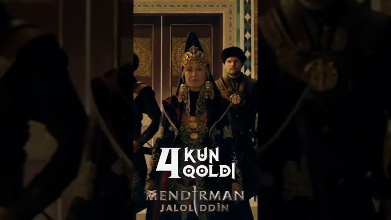 Mendirman Celaleddin | Serial premyerasiga 4 kun qoldi
