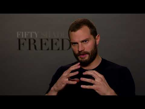 Fifty Shades Freed Jamie Dornan Official Interview