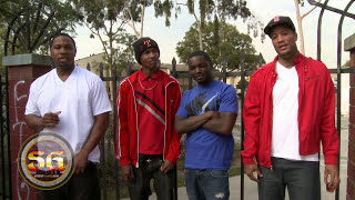 At the University Gardens apartment complex with the Fruit Town Brims