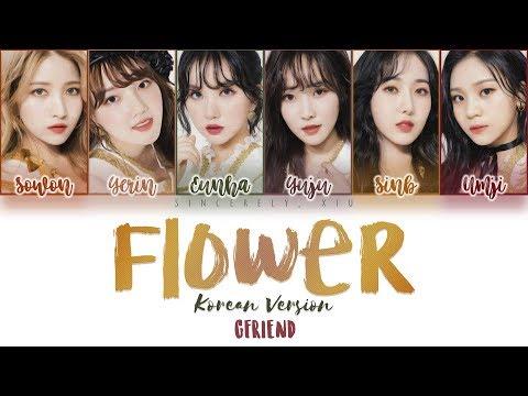 GFRIEND - FLOWER Korean Ver. Color Coded Lyrics 가사 | ENG, HAN, ROM