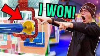 I FINALLY WON THE MAJOR PRIZE AT KEYMASTER!!!