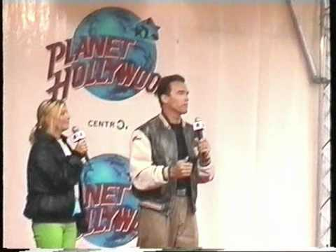 Arnold Schwarzenegger and Ralph Moeller Live @ the grand  of Planet H.