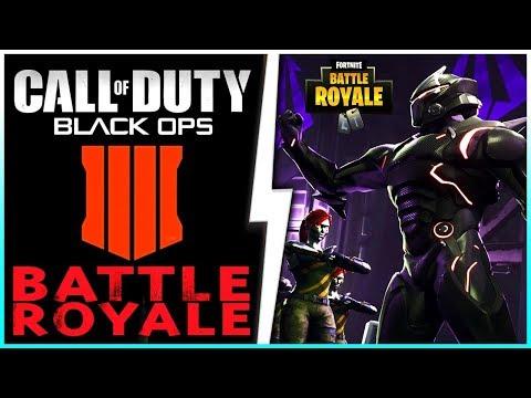 ❌ Das ENDE von Fortnite?! ❌ Call of Duty Black Ops 4 Battle Royale  Die Zukunft von GTA 5 Online!