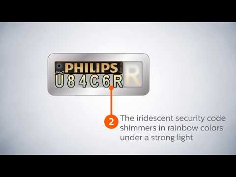 Philips certificate of authenticity: why buy original bulbs and avoid fakes for your car ? (2)