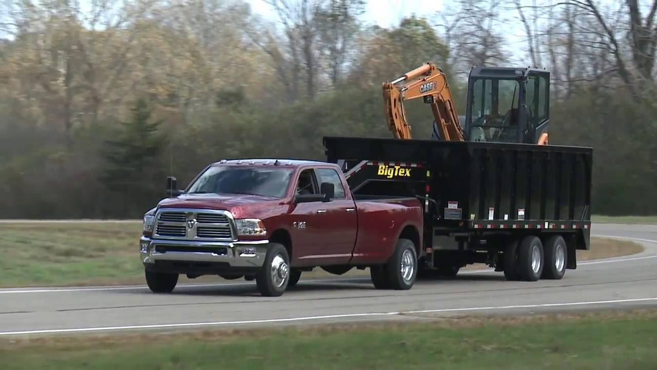 2017 Ram 3500 Heavy Duty Towing And Hauling