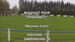 Coupe de Moselle US Holving - FC Sarrebourg deuxième mi-temps
