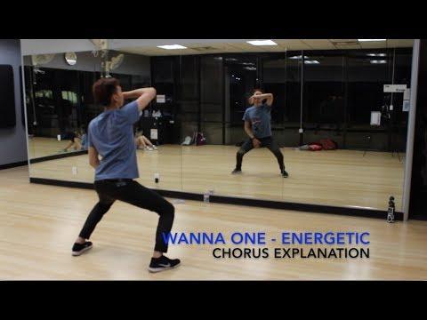 [Eclipse] Wanna One (워너원) - 에너제틱 (Energetic) Dance Tutorial   Prechorus + Chorus