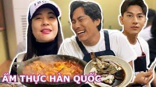 #9 Cát Phượng, Kiều Minh Tuấn cùng Isaac khám phá ẩm thực Hàn Quốc | Thích Là Đi, Thích Là Ăn