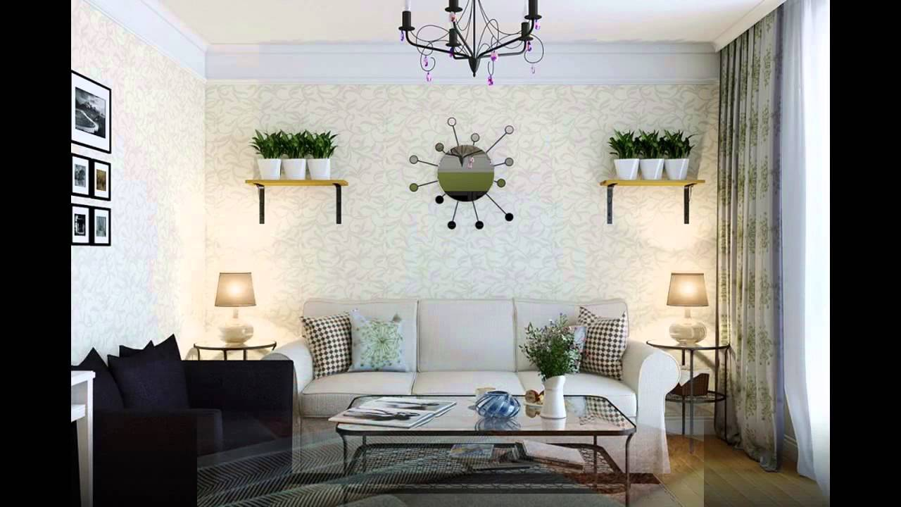 Cool Wallpaper ideas for living room - YouTube