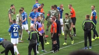 Lech Legia Superpuchar awantura na boisku (10.07.2015) 3 1