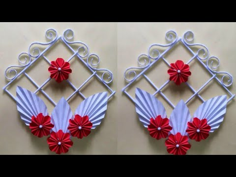 DIY: Wall and Door Hanging Idea | Wall Hanging Craft Ideas with Paper | Diy Easy Wall Hanging Ideas