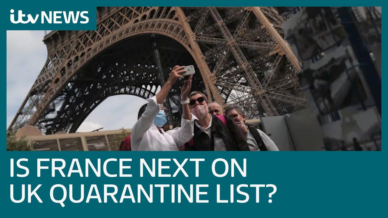 Covid 19 Will France Be Next On Uk S Coronavirus Quarantine List Itv News Youtube