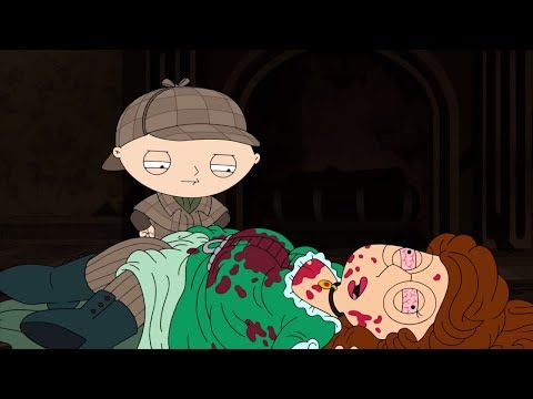 Detective Stewie Solves Megs Death Mystery