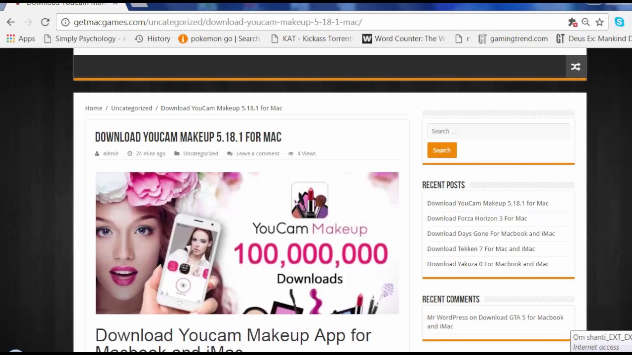 como descargar youcam makeup para pc