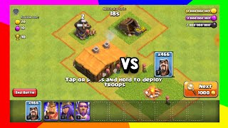 466 WIZARDS VS BASES !!! | Clash Of Clans