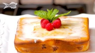 Orange Raspberry Coffee Cake - Laura Vitale Summer Desserts Unplugged