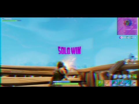 SOLO WIN MONTAGE! |ROAD TO 2K SUBS!!|