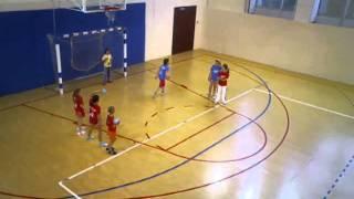 Танина тренировка, гандбол
