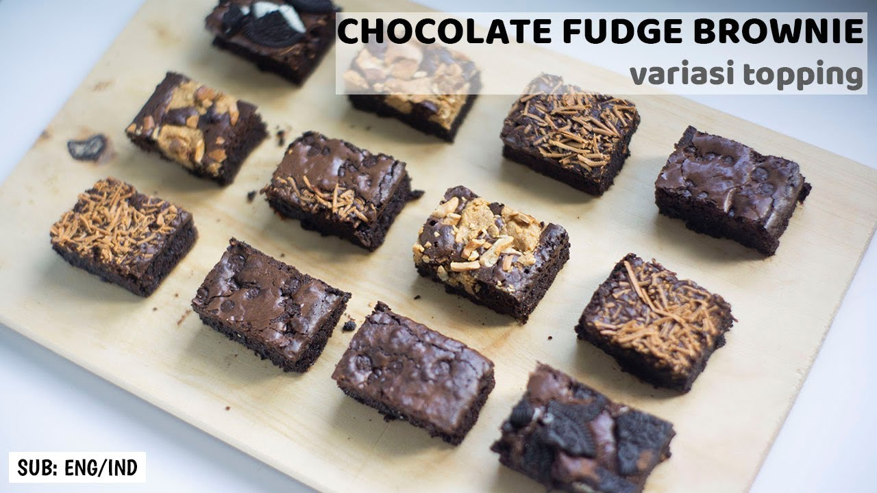 THE BEST EVER CHOCOLATE FUDGE BROWNIE EASY RECIPE | FUDGY BROWNIE