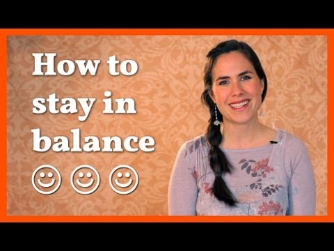 Acid/Alkaline - How to Stay in Balance